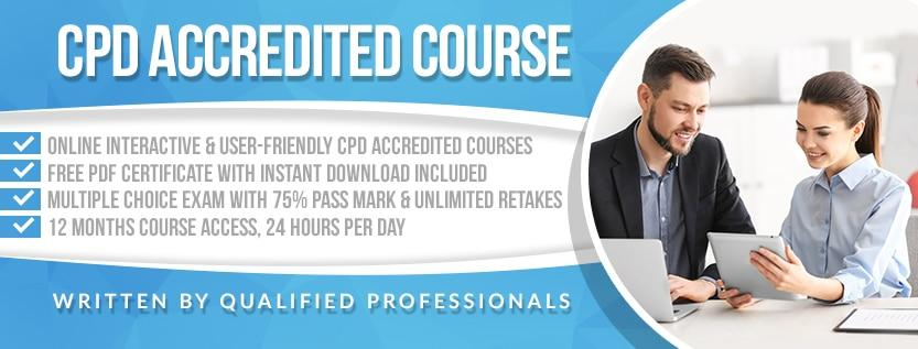 CPD ACCREDITED COURSE banner